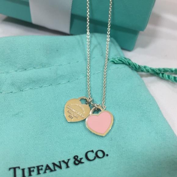 Tiffany & Co. Jewelry - Tiffany Return To Tiffany Enamel Heart Necklace